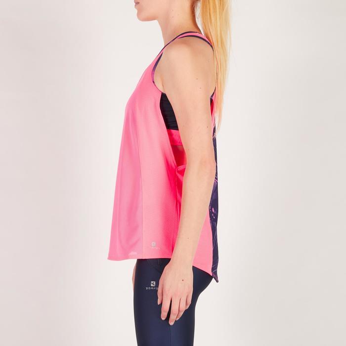 Débardeur brassière intégrée fitness cardio femme 500 Domyos - 1271998
