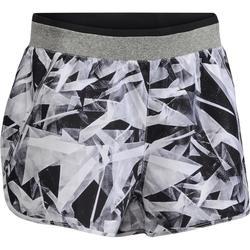 100 Women's Cardio Fitness Shorts - Geometric Print