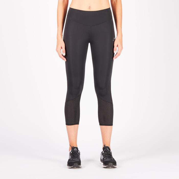 900 Women's 7/8 Cardio Fitness Leggings - Black