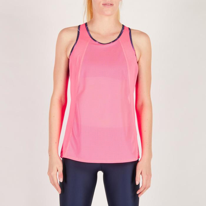 Débardeur brassière intégrée fitness cardio femme 500 Domyos - 1272080