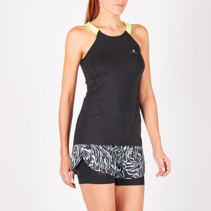 Débardeur fitness cardio femme 900 Domyos - 1272093