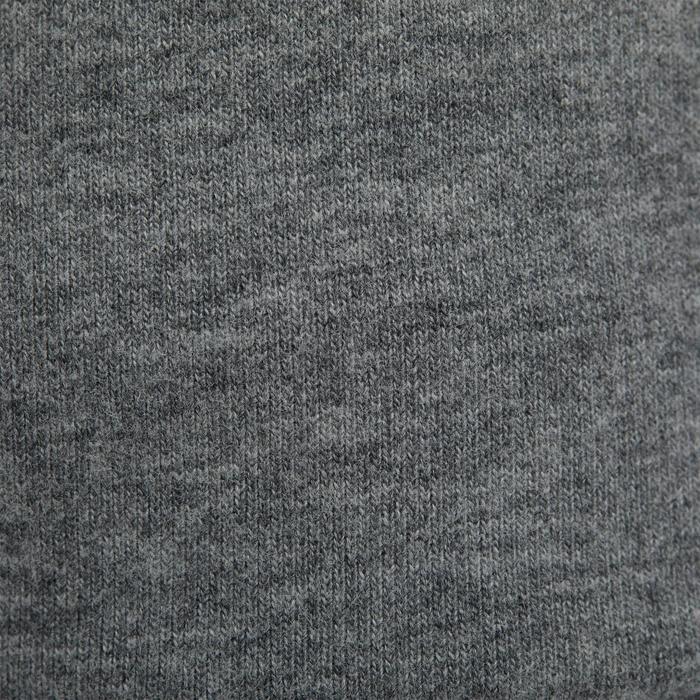 Broek 120 voor kleutergym grijs met opdruk