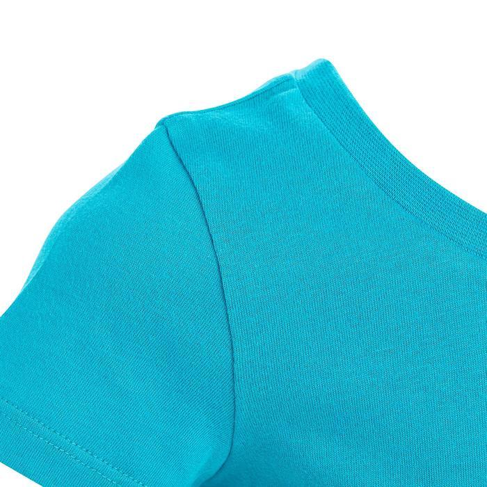 Lot x2 T-Shirt 100 manches courtes Gym Baby imprimé blanc bleu