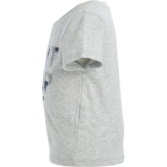 Lot x2 T-Shirt 100 manches courtes Gym Baby imprimé bleu gris - 1272162