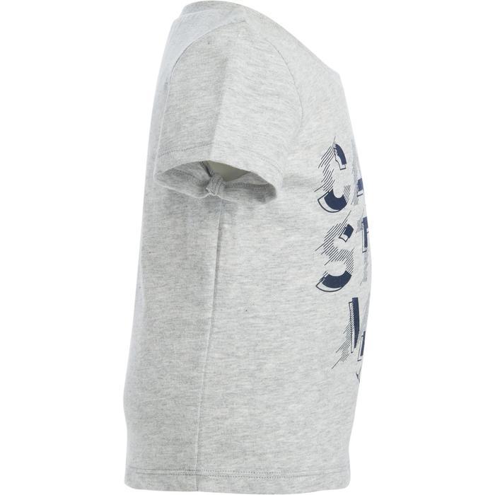 Lot x2 T-Shirt 100 manches courtes Gym Baby imprimé bleu gris - 1272168