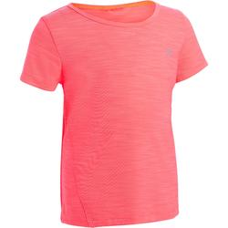T-shirt met korte mouwen S500 voor kleutergym roze