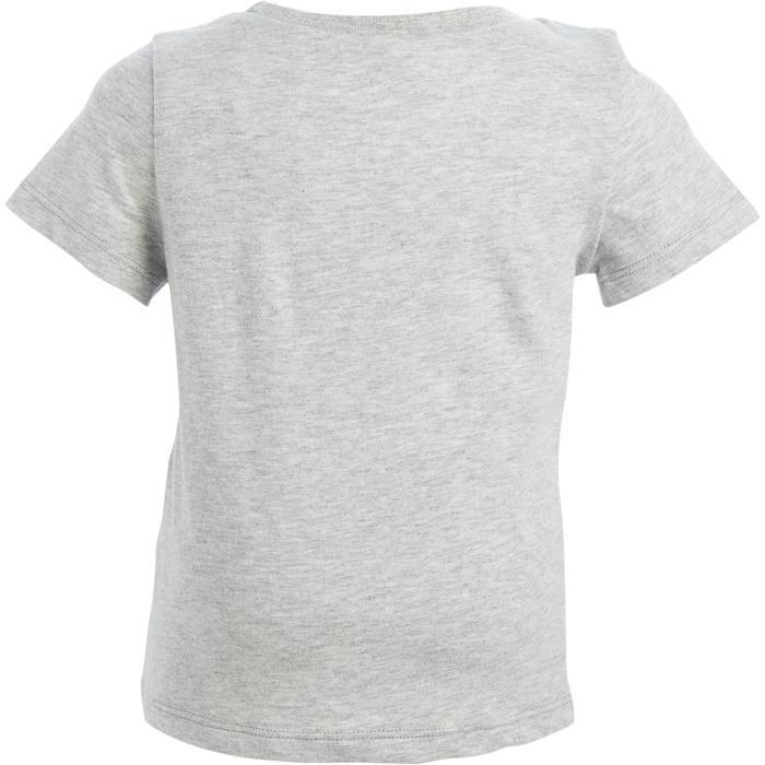 Lot x2 T-Shirt 100 manches courtes Gym Baby imprimé bleu gris - 1272221