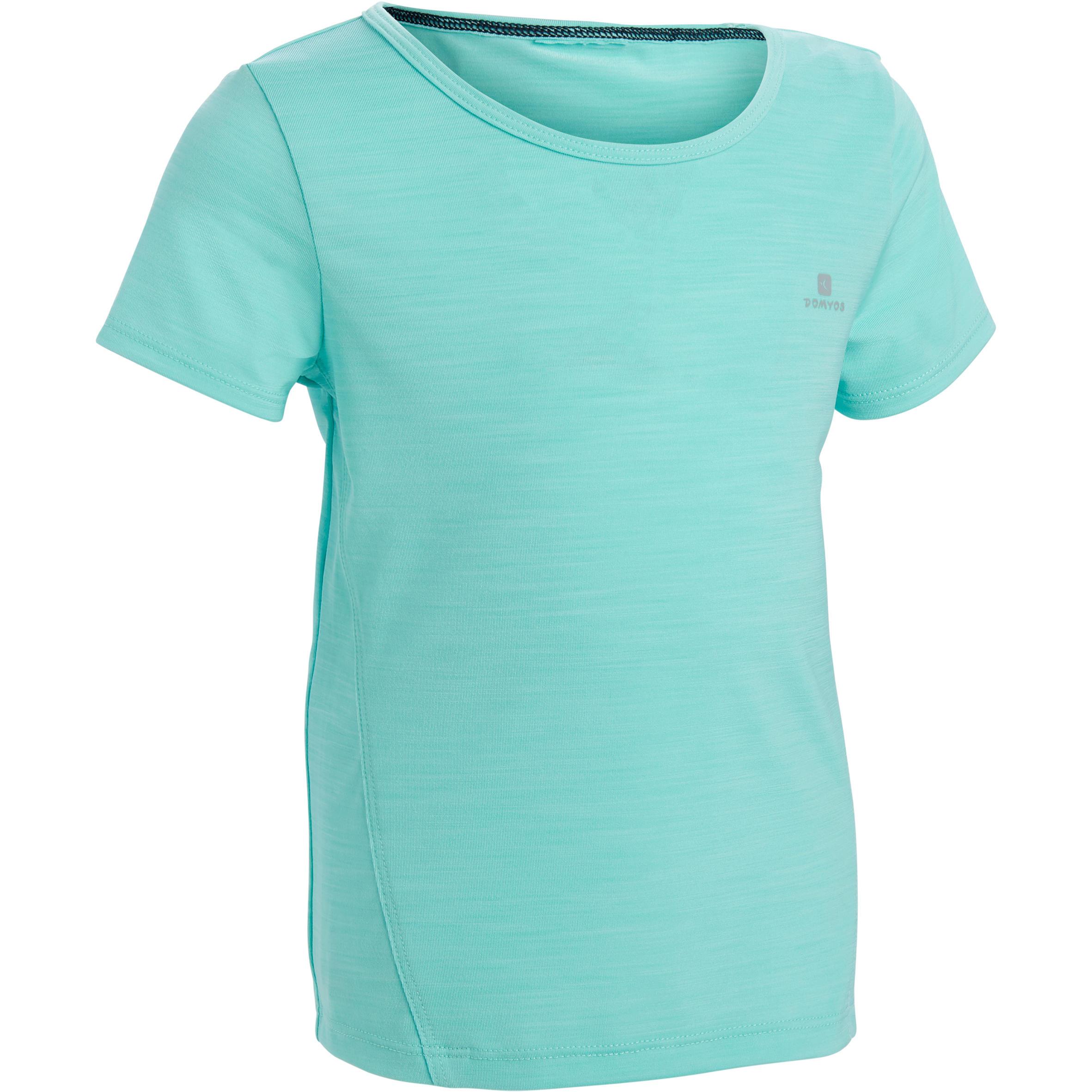 Tee-Shirt 560 manches courtes gym bébé bleu