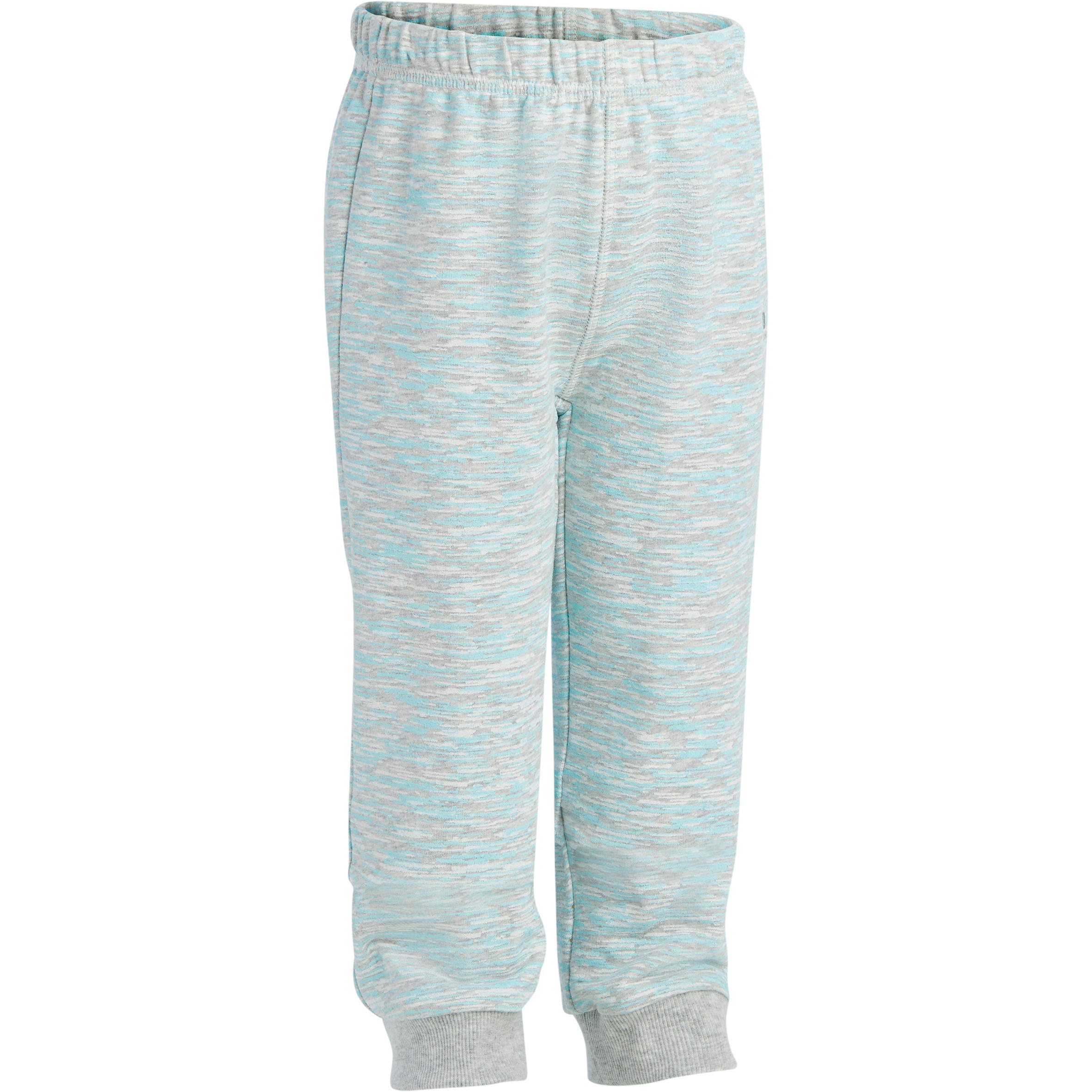 Pantalón 520 cálido gimnasia infantil gris