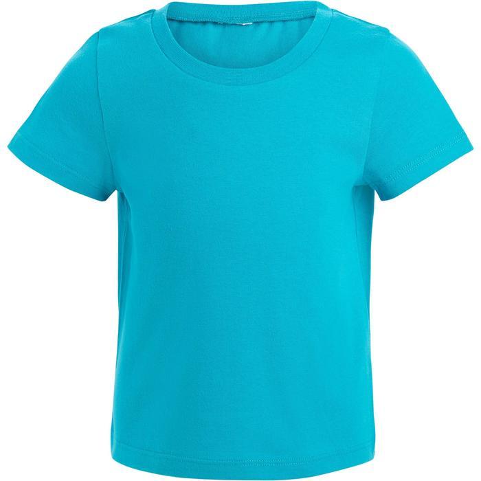 Lot x2 T-Shirt 100 manches courtes Gym Baby imprimé blanc bleu - 1272273