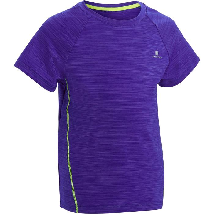 T-Shirt manches courtes S500 Baby Gym bleu