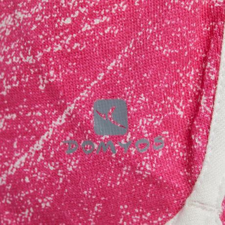 Short 500 Gym Baby imprimé rose blanc. Previous. Next e89b16f6e08