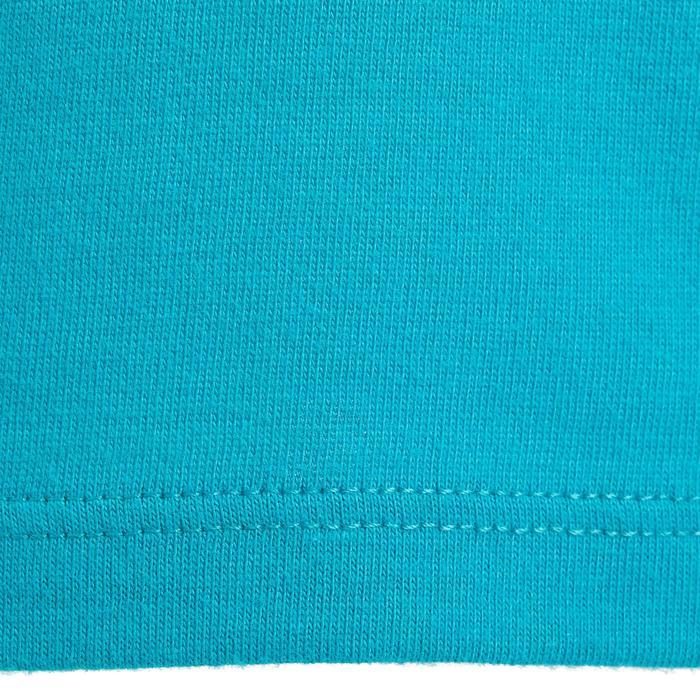 Lot x2 T-Shirt 100 manches courtes Gym Baby imprimé blanc bleu - 1272297