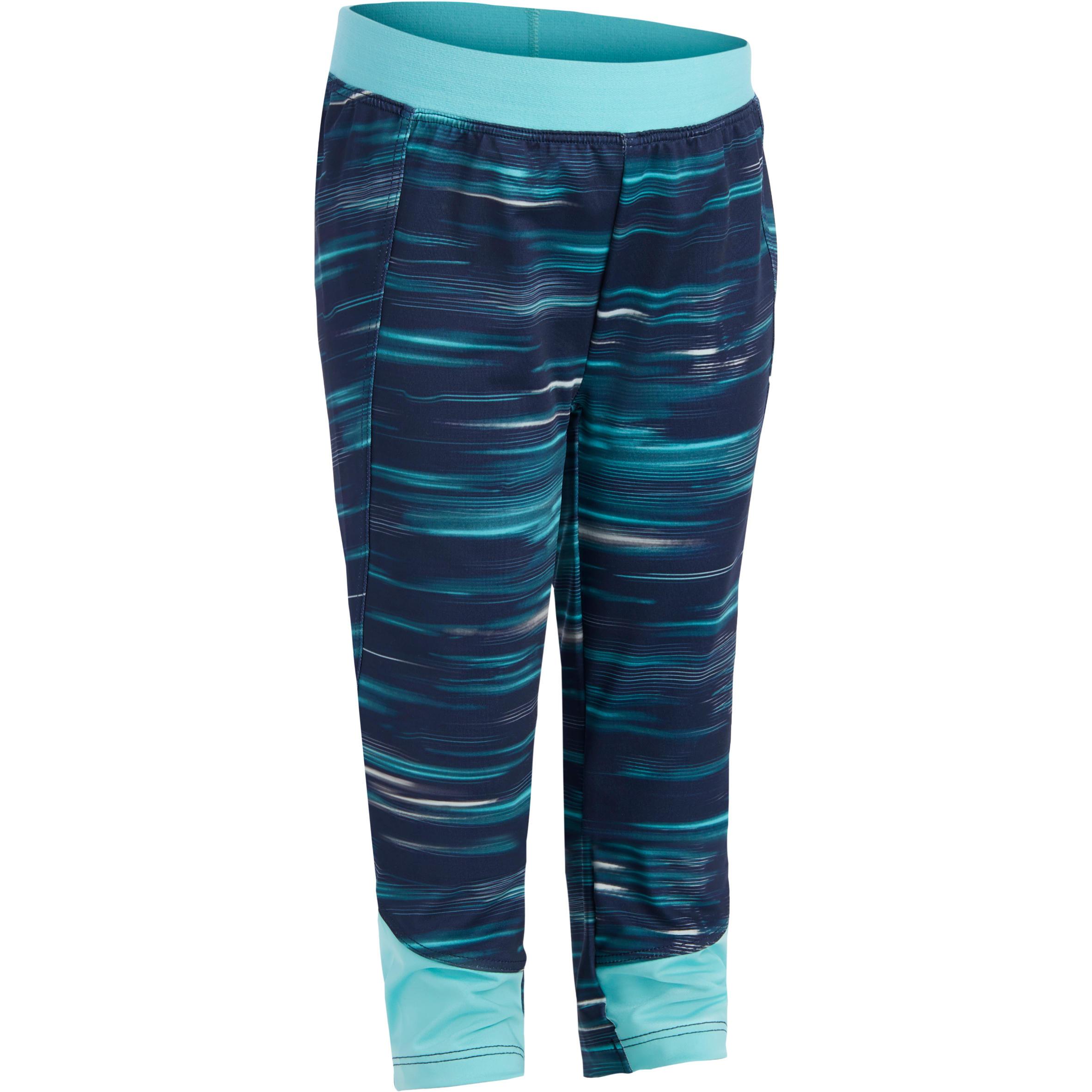 560 Baby Gym Leggings - Navy Blue Print
