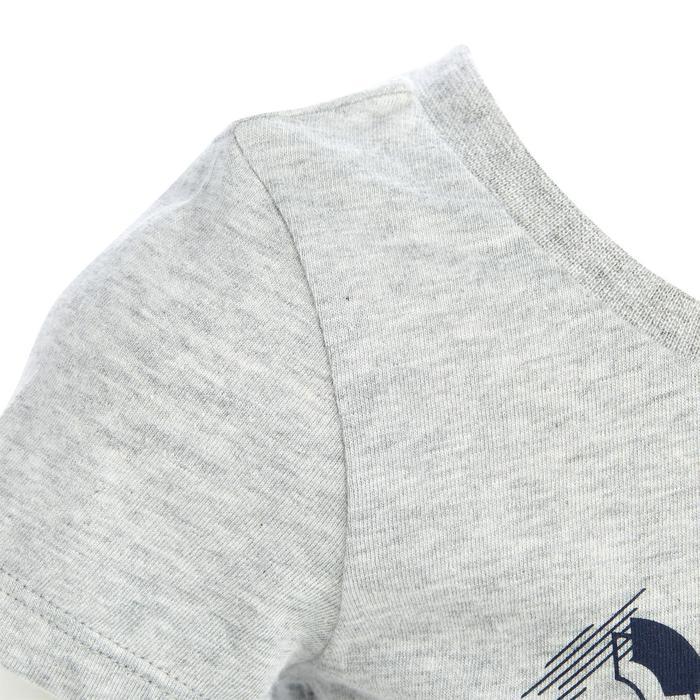 Lot x2 T-Shirt 100 manches courtes Gym Baby imprimé bleu gris - 1272375