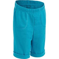 Short 500 voor kleutergym turquoise