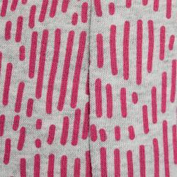100 Baby Light Gym Bottoms - Grey/Pink Print