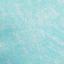 Short 500 Gym Baby imprimé bleu blanc