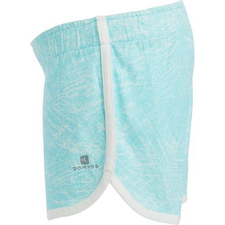 Short 500 Baby Gym imprimé fille bleu blanc. Previous. Next 309e4e13540