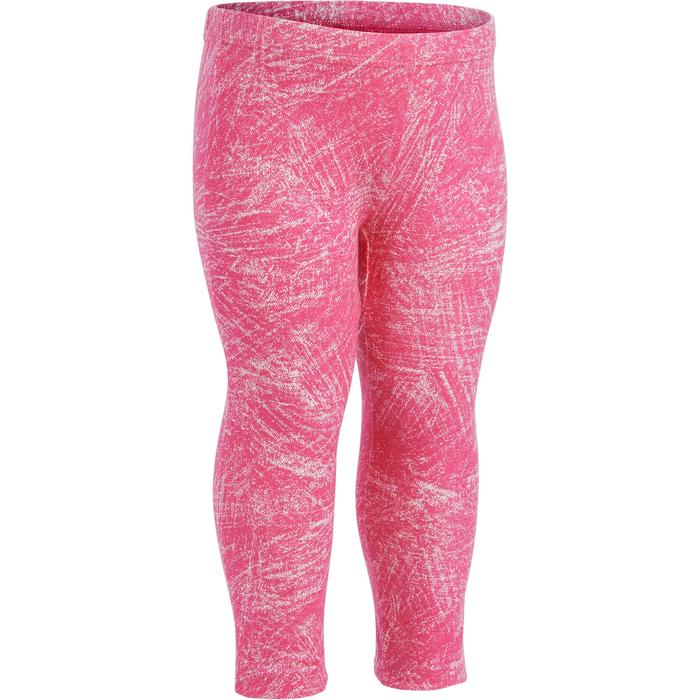 Lotx2 Legging 100 Baby Gym fille imprimé - 1272450