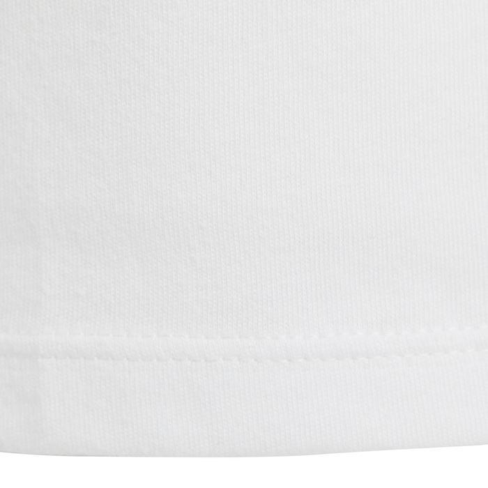 Gymtop 500 voor peuters wit met print