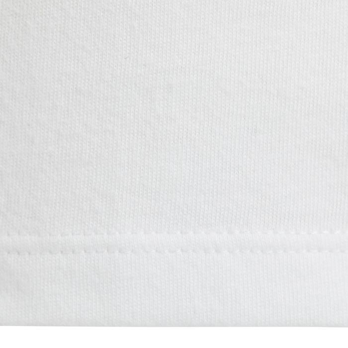 Débardeur 100 Gym Baby imprimé blanc - 1272482