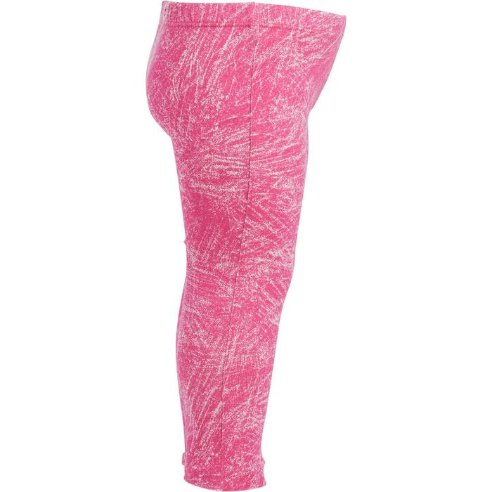 Lotx2 Legging 100 Baby Gym fille imprimé - 1272502