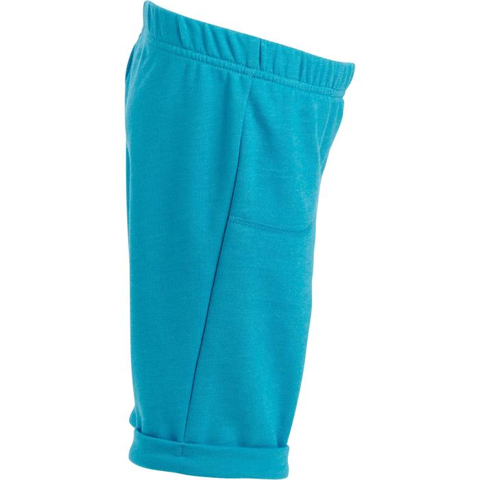 Short 500 Gym Baby turquoise