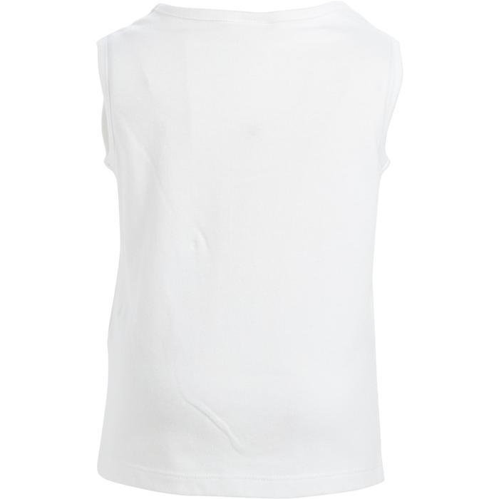 Débardeur 100 Gym Baby imprimé blanc - 1272527