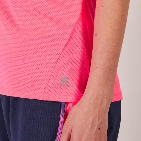Domyos Débardeur fitness cardio femme rose fluo 500 Domyos ... ba03adf80d1