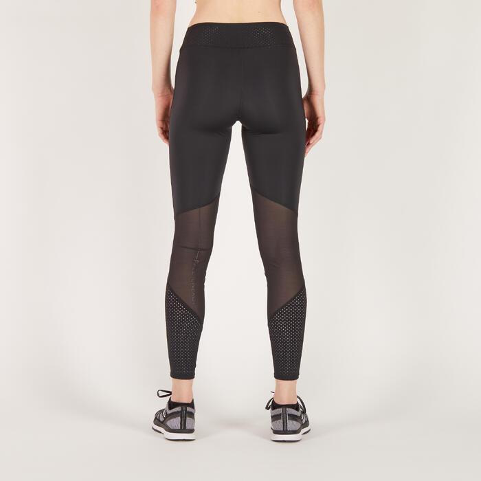 Leggings FTI 900 Cardio-/Fitnesstraining Damen schwarz