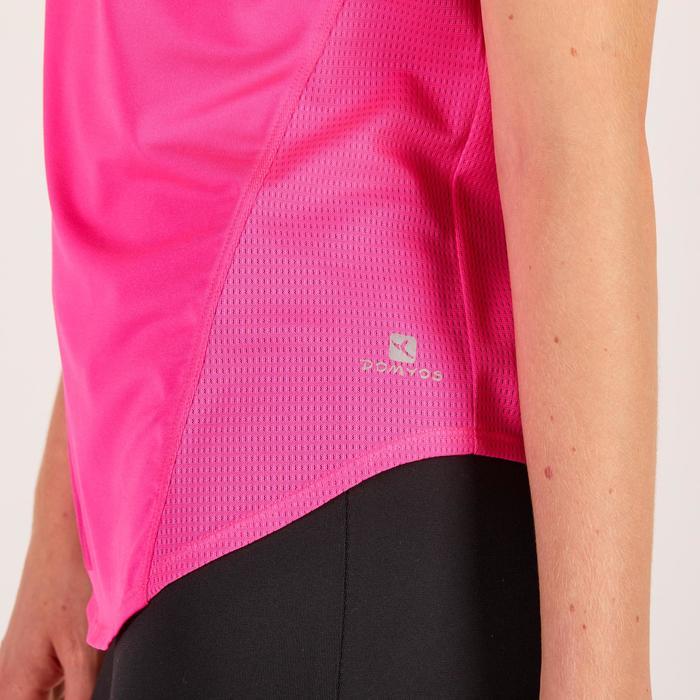 T-Shirt Loose 120 Fitness Cardio Damen rosa