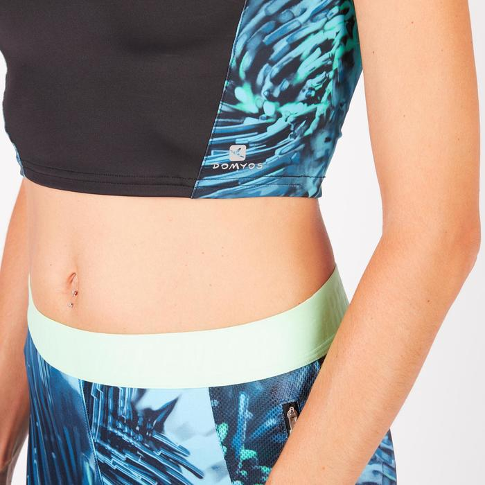 Cropped top fitness cardio femme 500 Domyos - 1272586