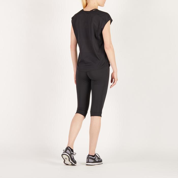 T-shirt loose fitness cardio femme avec imprimés 120 Domyos - 1272678