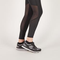 Fitness legging 900 voor dames, zwart