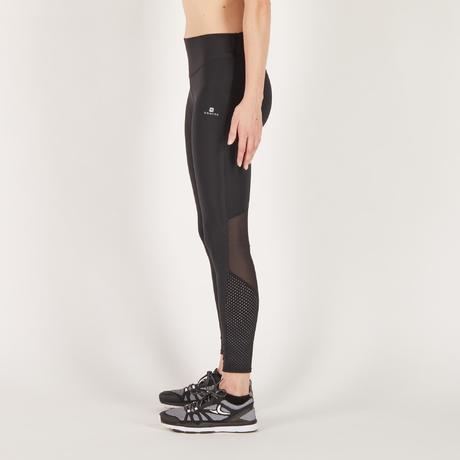 legging fitness cardio femme noir 900 domyos domyos by decathlon. Black Bedroom Furniture Sets. Home Design Ideas