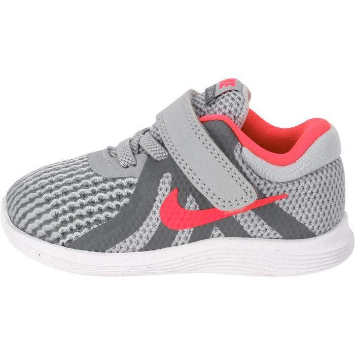 Zapatillas Gimnasia Bebé Nike Revolution 2018 Bebé Rosa/Gris