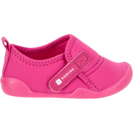 Ultralight Baby Gym Bootees - Pink