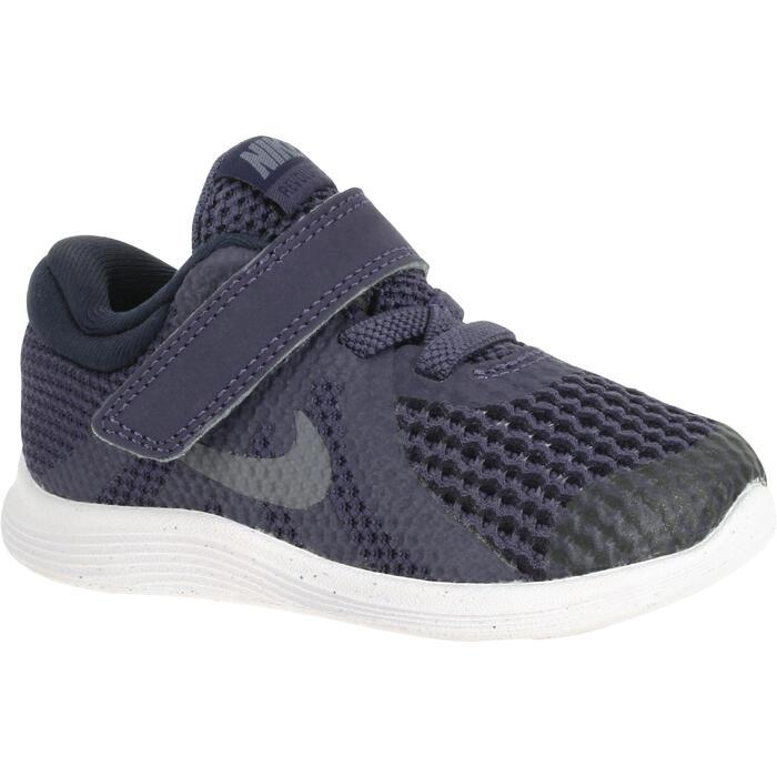 Zapatillas Gimnasia Bebé Nike Revolution 2018 Bebé Gris