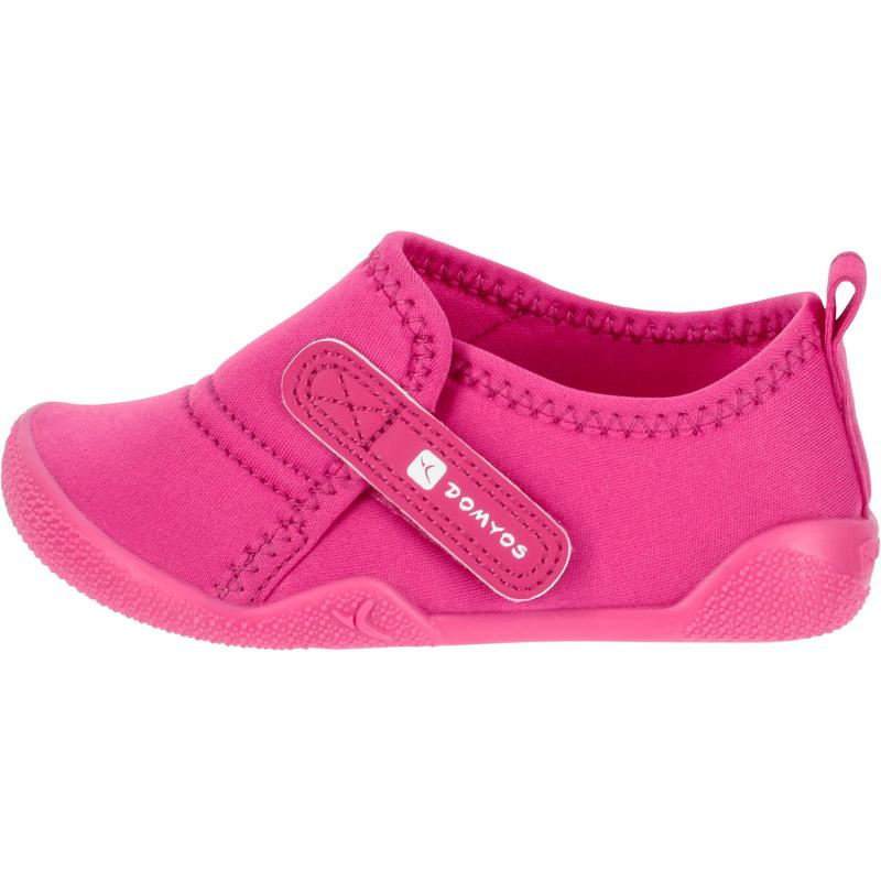32e2eeb8a5ec Ultralight Baby Gym Bootees - Pink