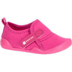 729a90c76fe Ultralight Baby Gym Bootees - Pink