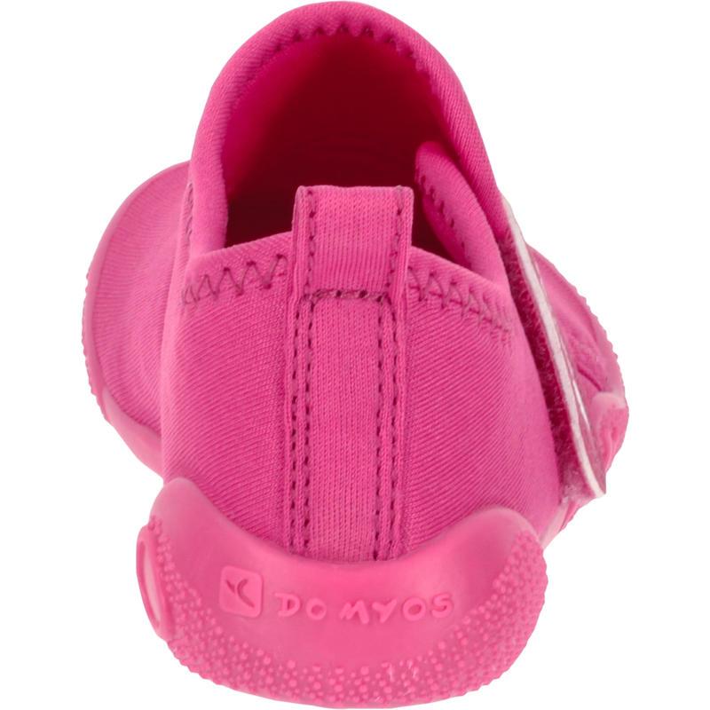 Zapatillas primeros pasos 100 ULTRALIGHT GIMNASIA rosado 18