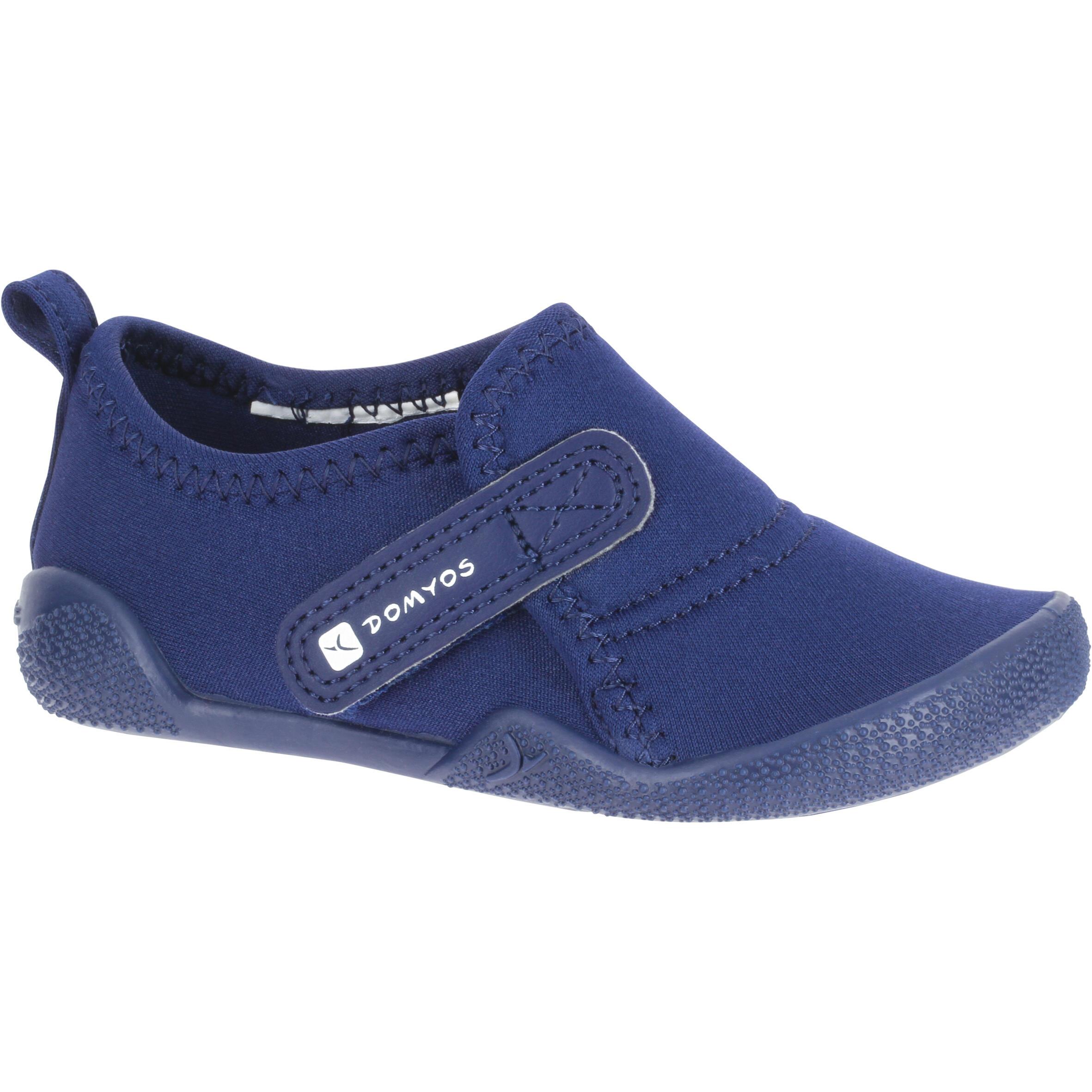 Domyos Gymschoentjes Ultralight voor kleutergym marineblauw