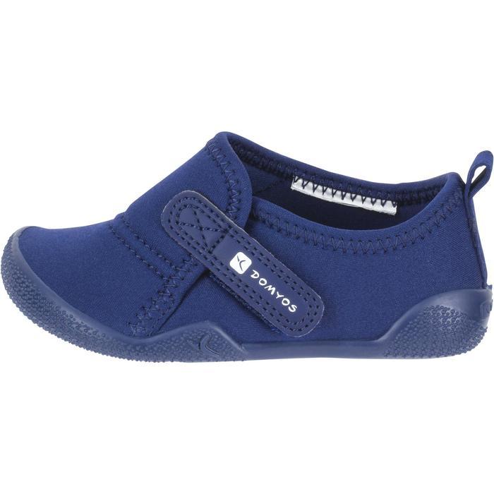 Zapatillas primeros pasos gimnasia infantil ULTRALIGHT azul marino