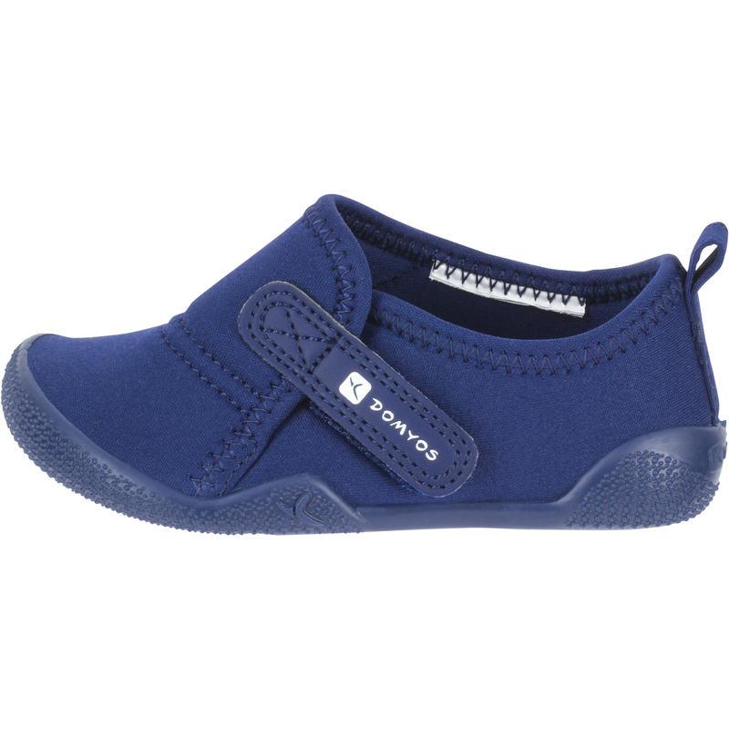 Zapatillas primeros pasos 100 ULTRALIGHT GIMNASIA azul marino