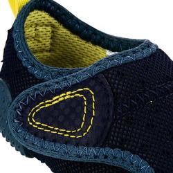 Gymschoentjes 500 Babylight marineblauw/donkergrijs