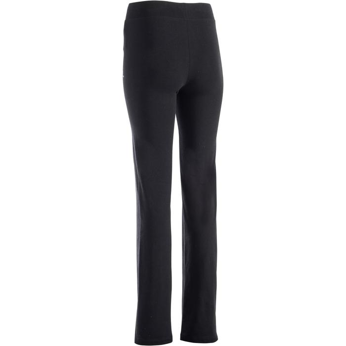 Legging FIT+ 500 regular Gym Stretching femme noir