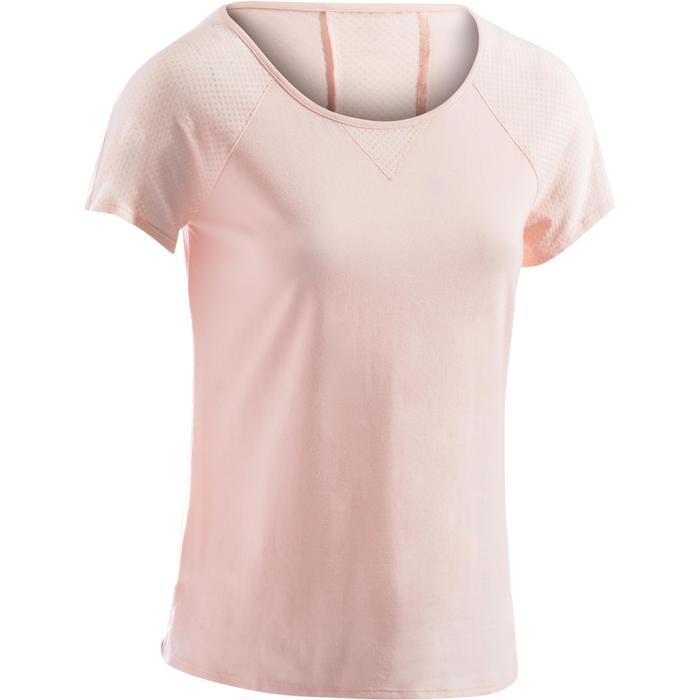 T-Shirt 900 manches courtes Gym & Pilates femme - 1273102