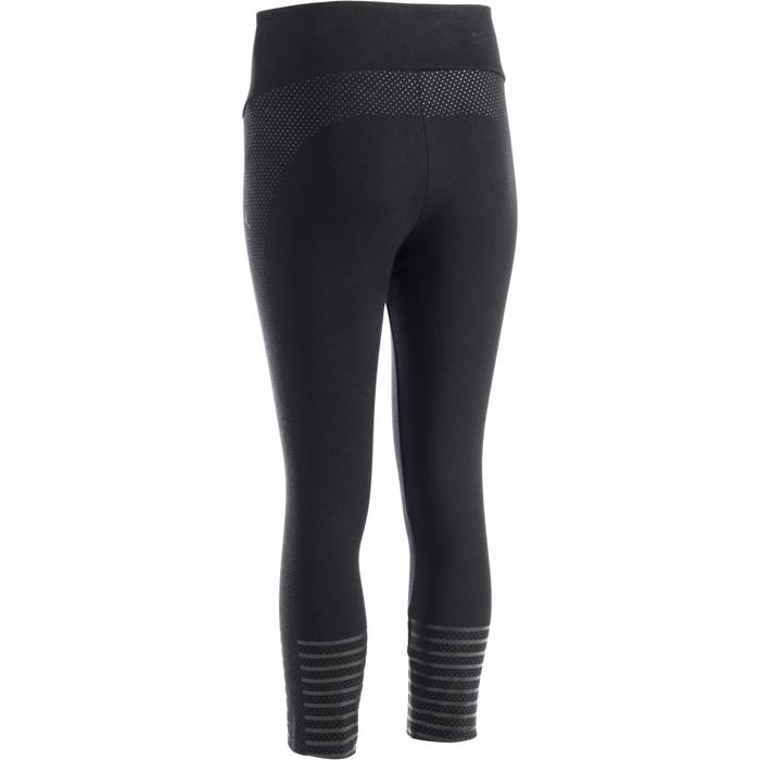 Legging 7/8 900 Slim Gym & Pilates Femme noir