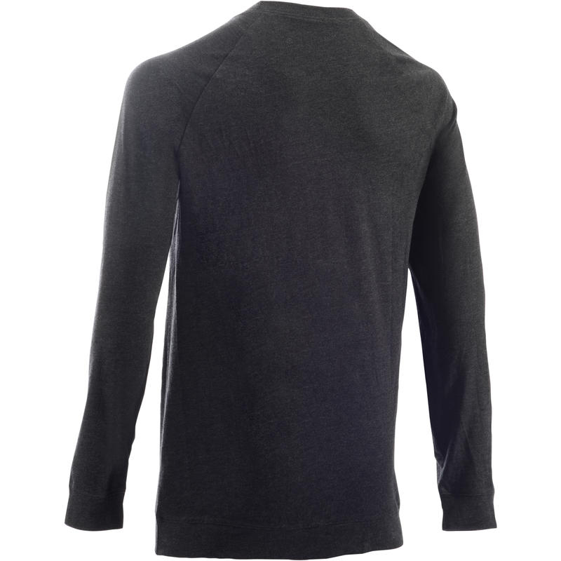 100 Pilates & Gentle Gym Sweatshirt - Dark Grey